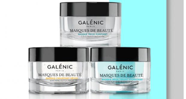 4 lots de 3 masques de beauté Galénic