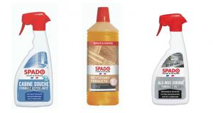 50 lots de 3 produits d'entretien Spado