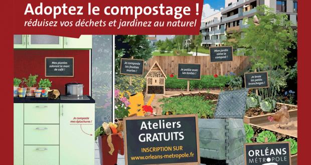 Atelier compostage et composteur gratuit