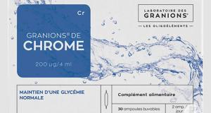 Cure de Chrome des laboratoires des Granions
