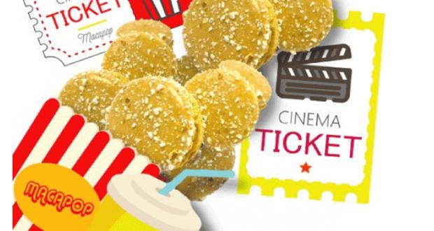 Distribution gratuite de Macarons pour le Printemps du Cinéma