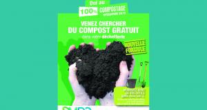 Distribution gratuite de compost à Noyon