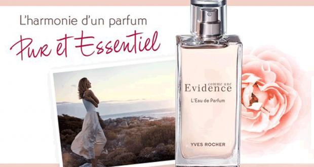 Eau De Parfum Comme Une Evidence 50ml Offert Pour Tout Achat