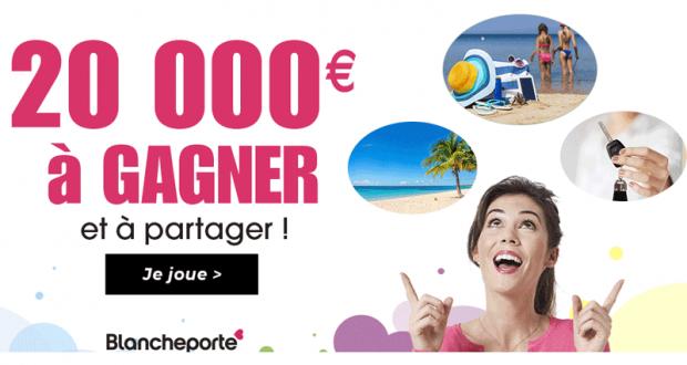 Gagnez 20 000 euros