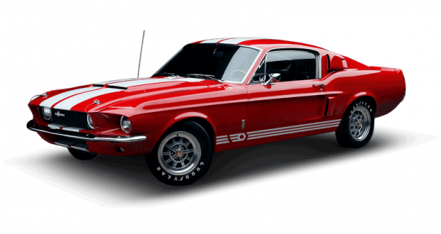Gagnez une voiture modèle Ford Mustang Fastback 67