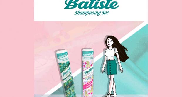 Shampooings secs Pink Pineapple et Luxe de Batiste