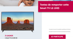 Téléviseur Smart TV LG UHD 4K