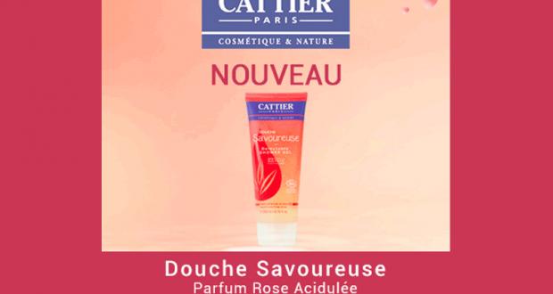 Testez le gel douche Douche Savoureuse de Cattier