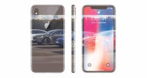 Un Smartphone iPhone X
