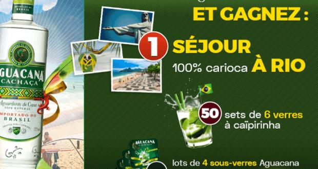 Voyage pour 2 personnes à Rio de Janeiro
