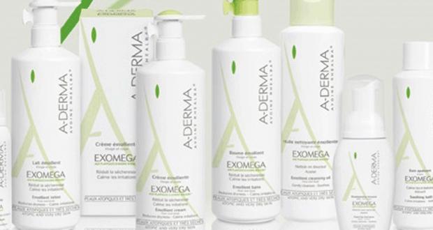 10 lots de 3 produits de soins A-derma