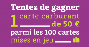 100 cartes carburant de 50€ offertes