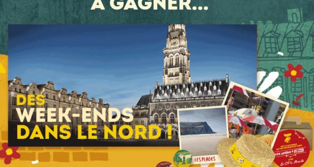 17 week-ends pour 2 Au cœur du Nord de la France