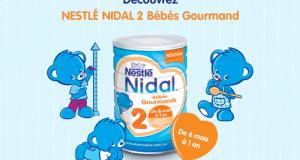 2000 Boites de Nidal 2 Bébés Gourmands de Nestlé offertes
