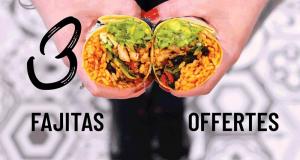 300 Fajitas offertes - Fast Food Nachos