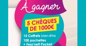 5 chèques de 1000 euros