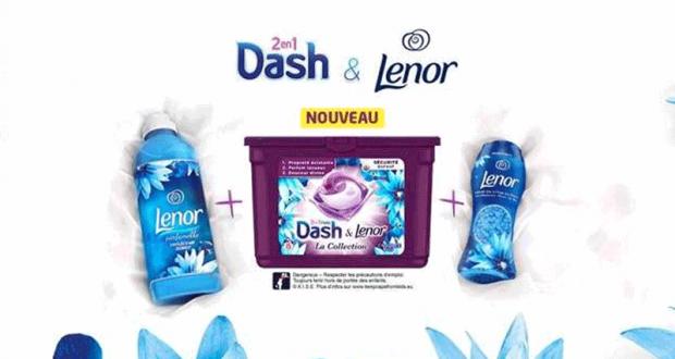 8000 packs Dash & Lenor Offerts