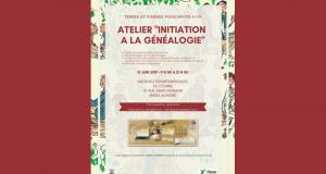 Atelier gratuit d'initiation à la généalogie aux Archives de l'Yonne