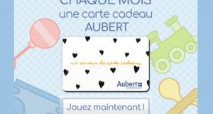 Chèque cadeau Aubert de 350 euros