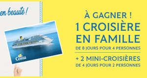 Croisière de 8 jours pour 4 personnes au départ de Marseille