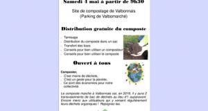 Distribution Gratuite de Compost - Valbonnais