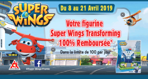 Figurine Super Wings Transforming 100% Remboursé