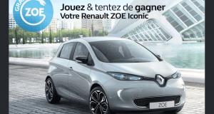 Gagnez une voiture modèle Renault ZOE