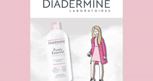 Lait Micellaire Purely Essential de Diadermine