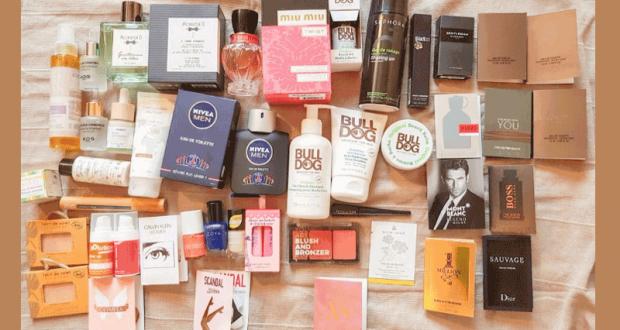 Lot de produits de beauté (400 euros)