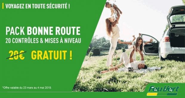 Pack Bonne Route Offert - Feu Vert