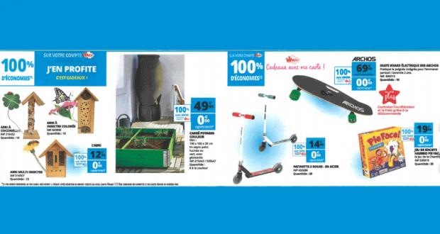 Sélection d'articles 100% remboursés - Magasin Auchan