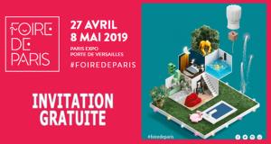 Téléchargez vos invitations gratuites pour Foire de Paris