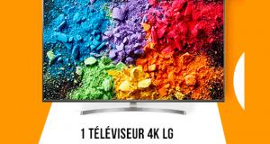 Téléviseur 4K LG 164 cm