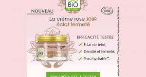 Testez la Crème rose éclat fermeté Jour Précieux Argan SO'BiO étic