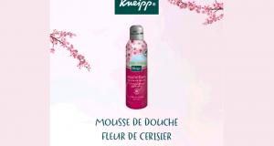 Testez la Mousse de douche Fleur de cerisier de Kneipp