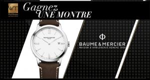 Une montre Baume & Mercier Classima