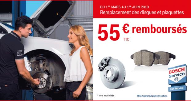 Vos Plaquettes Bosch Jusqu'à 100% Remboursées