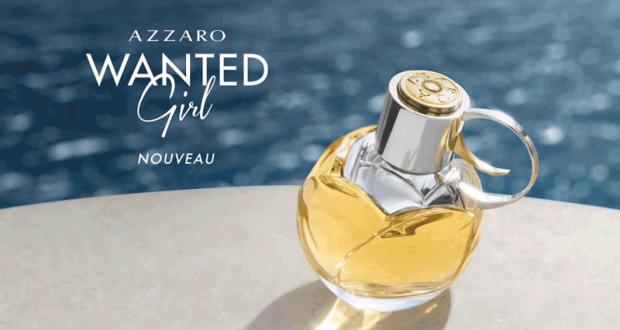 Échantillons gratuits du parfum féminin Azzaro Wanted Girl