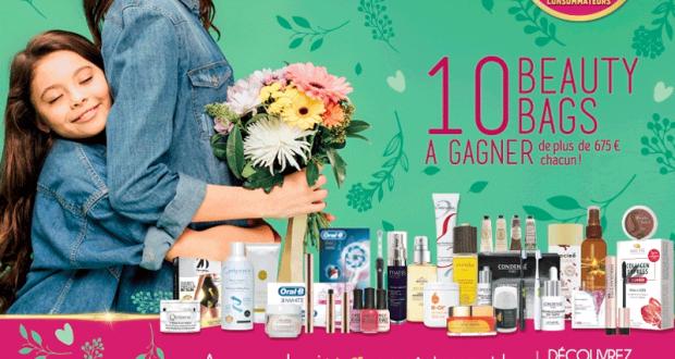 10 Beauty Bags offerts (Valeur de 675 euros chacun)
