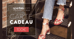 10 bons d'achat Spartoo de 100 euros offerts