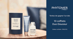 10 coffrets Duo Douceur Phytomer offerts