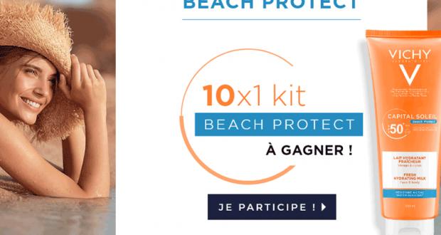10 kits de 2 produits Vichy Beach Protect offerts