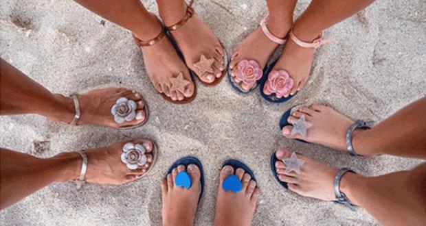 10 paires de sandales Zhoelala offertes