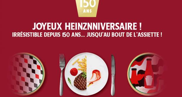 1000 assiettes Heinz offertes