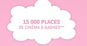 15 000 places de cinéma offertes