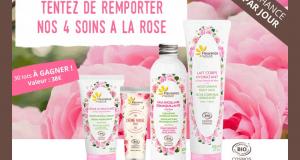 30 lots de 4 Soins à la rose Fleurance Nature offerts