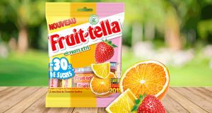 3300 sachets de bonbons Fruit-Tella offerts