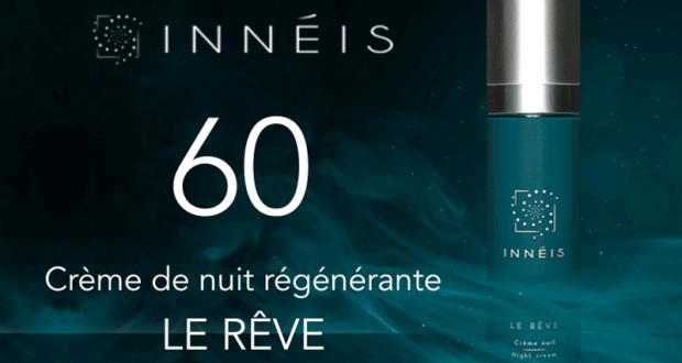 60 Crème de nuit régénérante Le Rêve d'INNÉIS