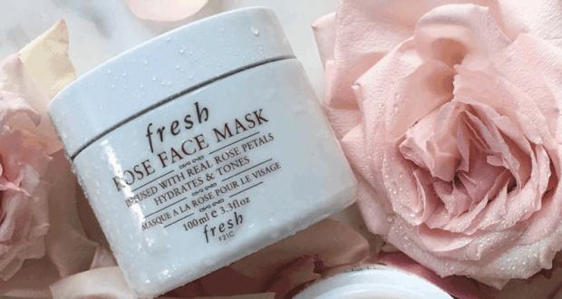 Masque visage Rose Face Mask de Fresh offert sur simple visite