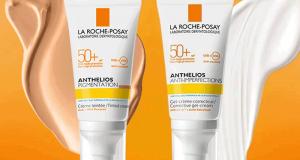 Testez Anthelios Pigmentation SPF50+ ou Anti-imperfections SP50+